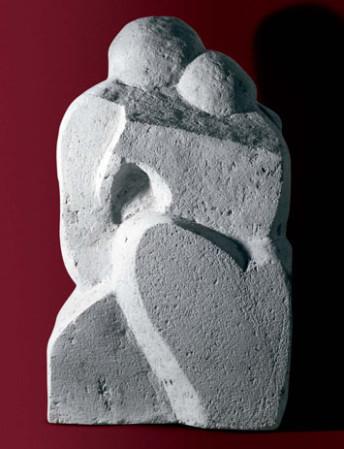 Coppia 42x30x73 pietra enfero.