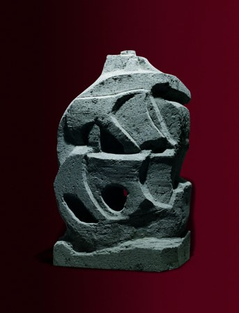 Veliero, 43x33x73, pietra enfero.