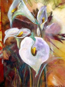 Calle, 35x50, dipinto ad olio.